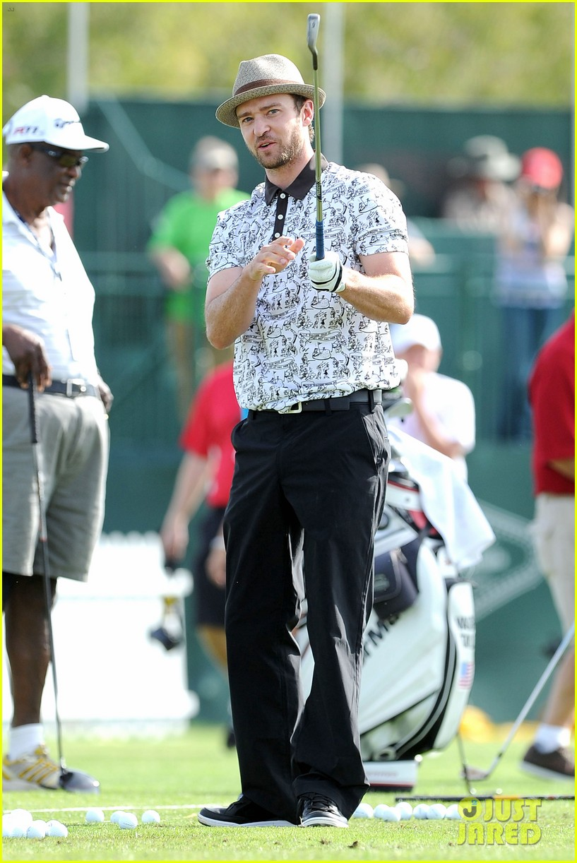 justin timberlake shriners hospital golf tournament 18
