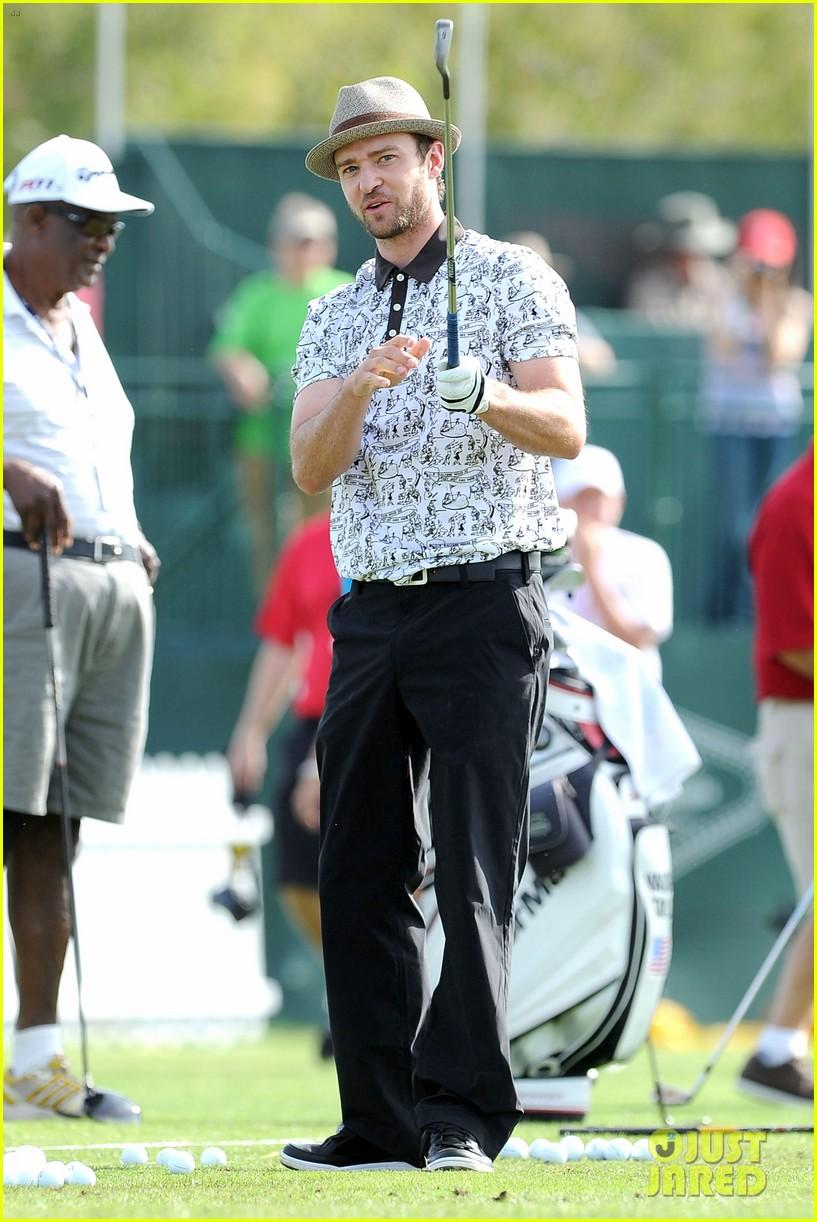justin timberlake shriners hospital golf tournament 18