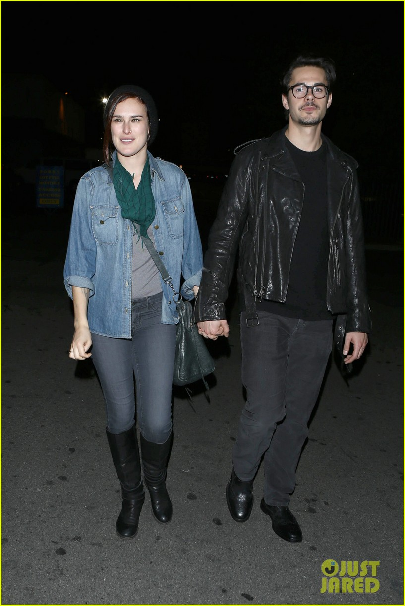 rumer willis jayson blair clubbing couple 02