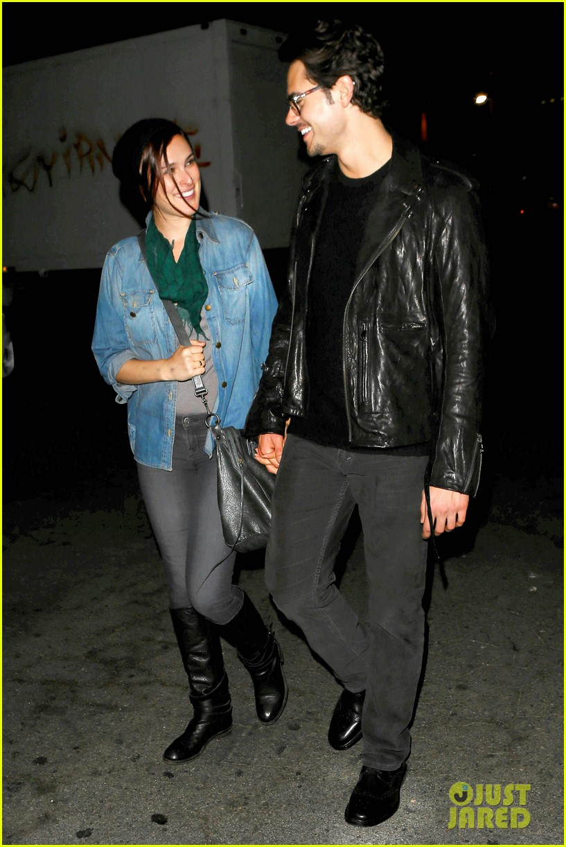rumer willis jayson blair clubbing couple 05