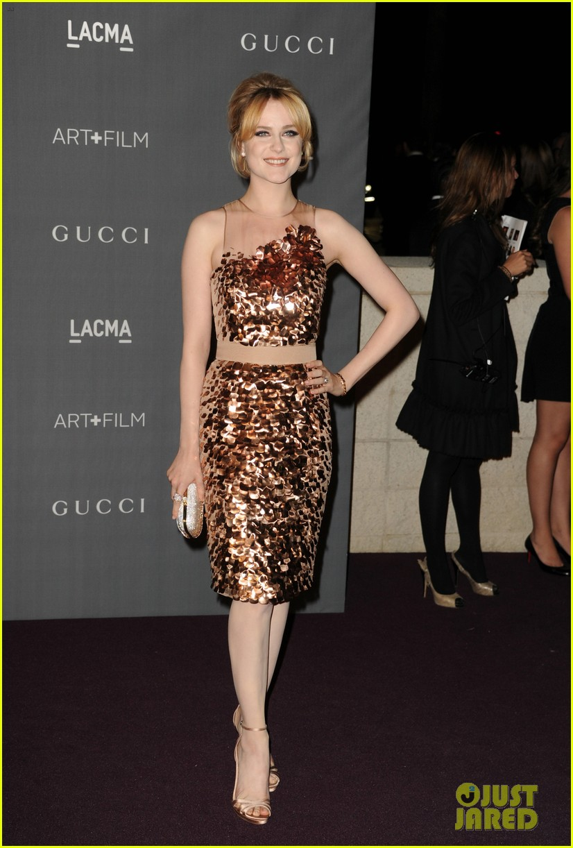 evan rachel wood amber heard lacma art film gala 07