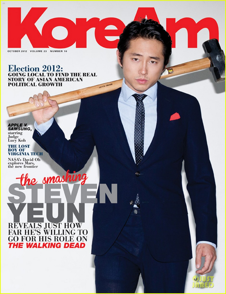 steven yeun covers koream 01