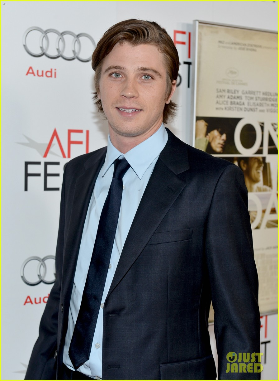 amy adams garrett hedlund on the road afi screening 162750620