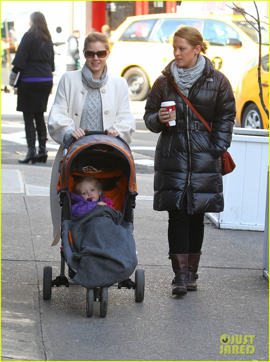 amy adams big apple family time 14