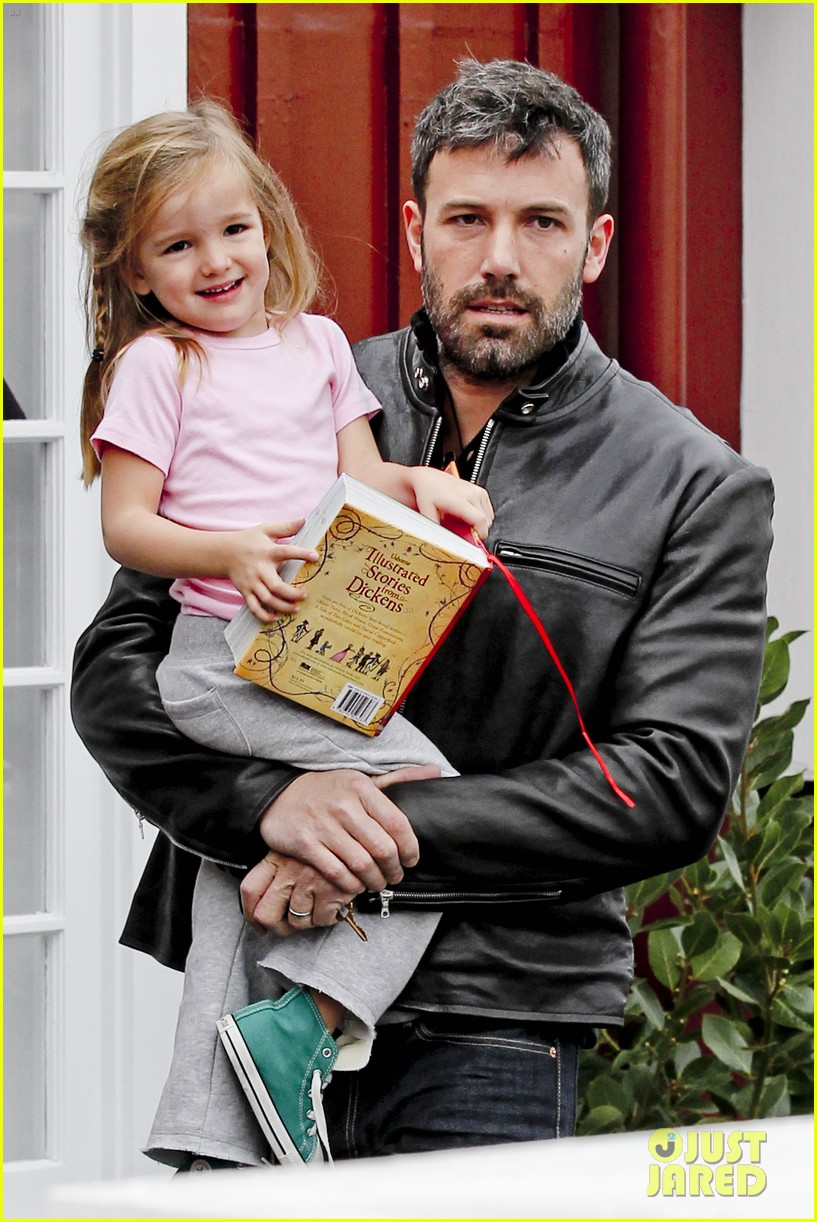 ben affleck daddys day with violet seraphina 18