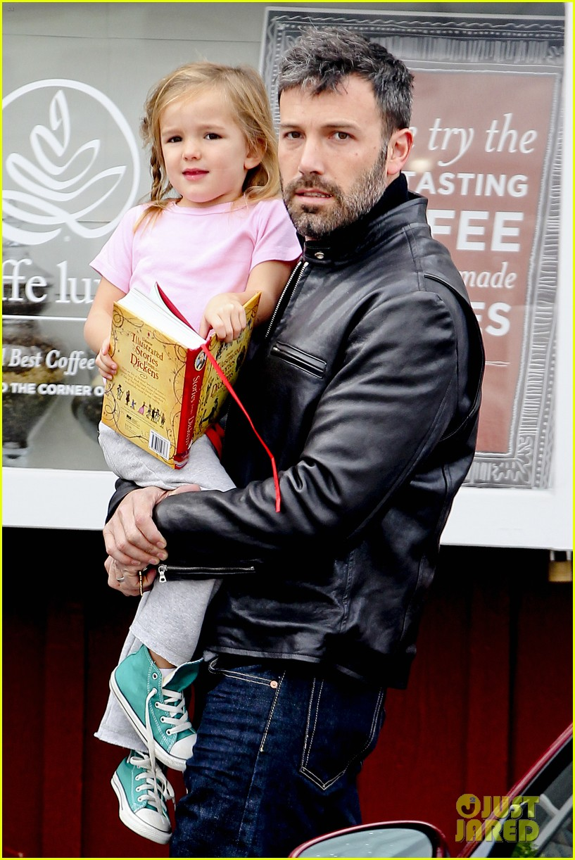 ben affleck daddys day with violet seraphina 21