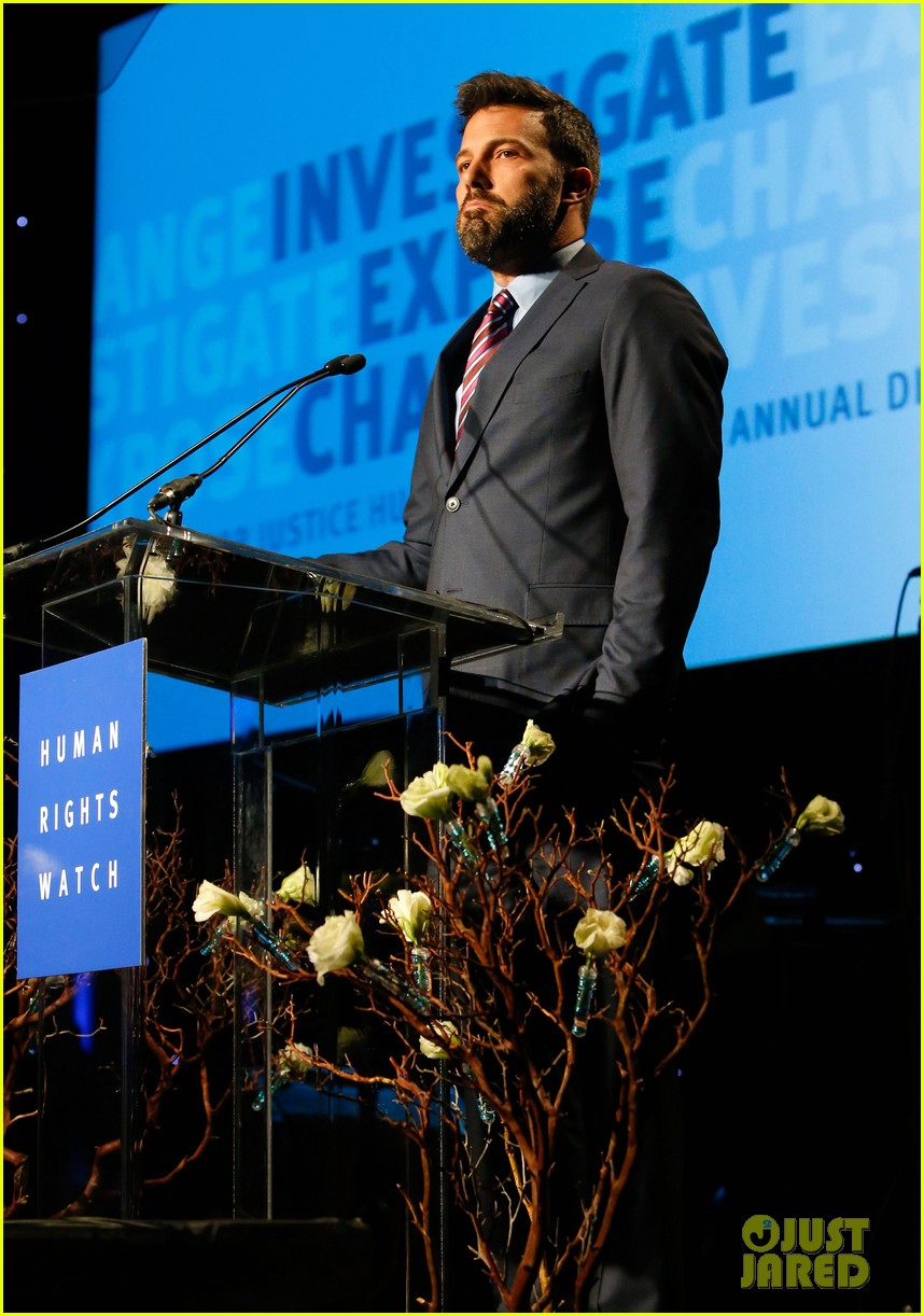 ben affleck human rights watch guest speaker 05