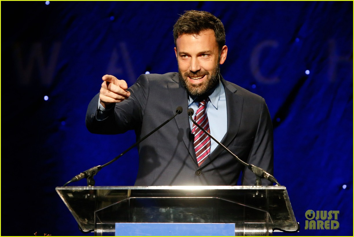 ben affleck human rights watch guest speaker 08