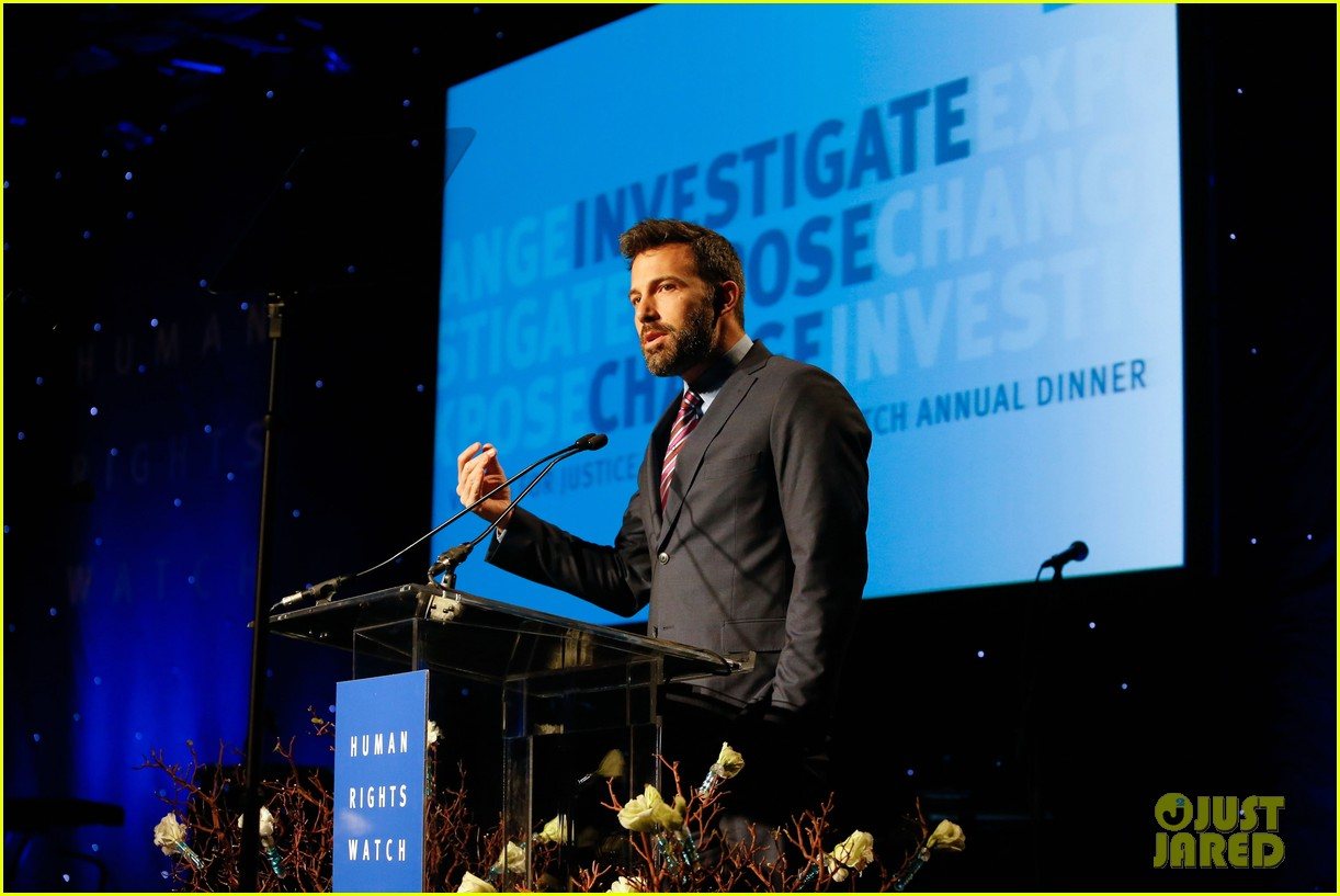 ben affleck human rights watch guest speaker 12