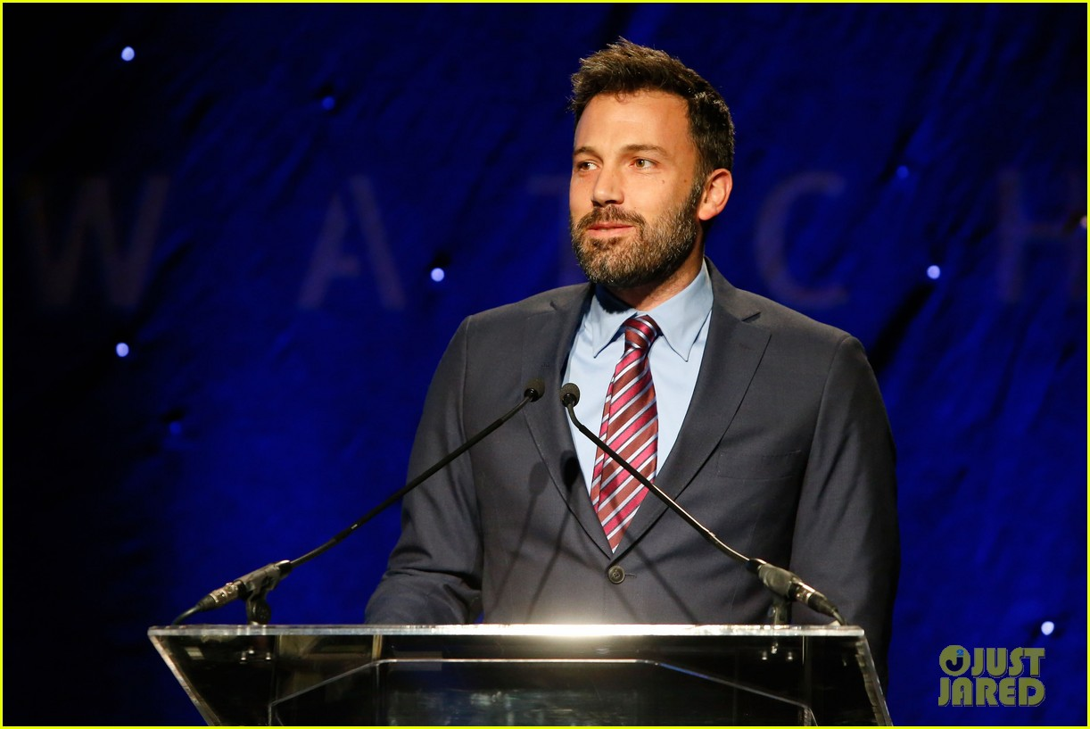ben affleck human rights watch guest speaker 13