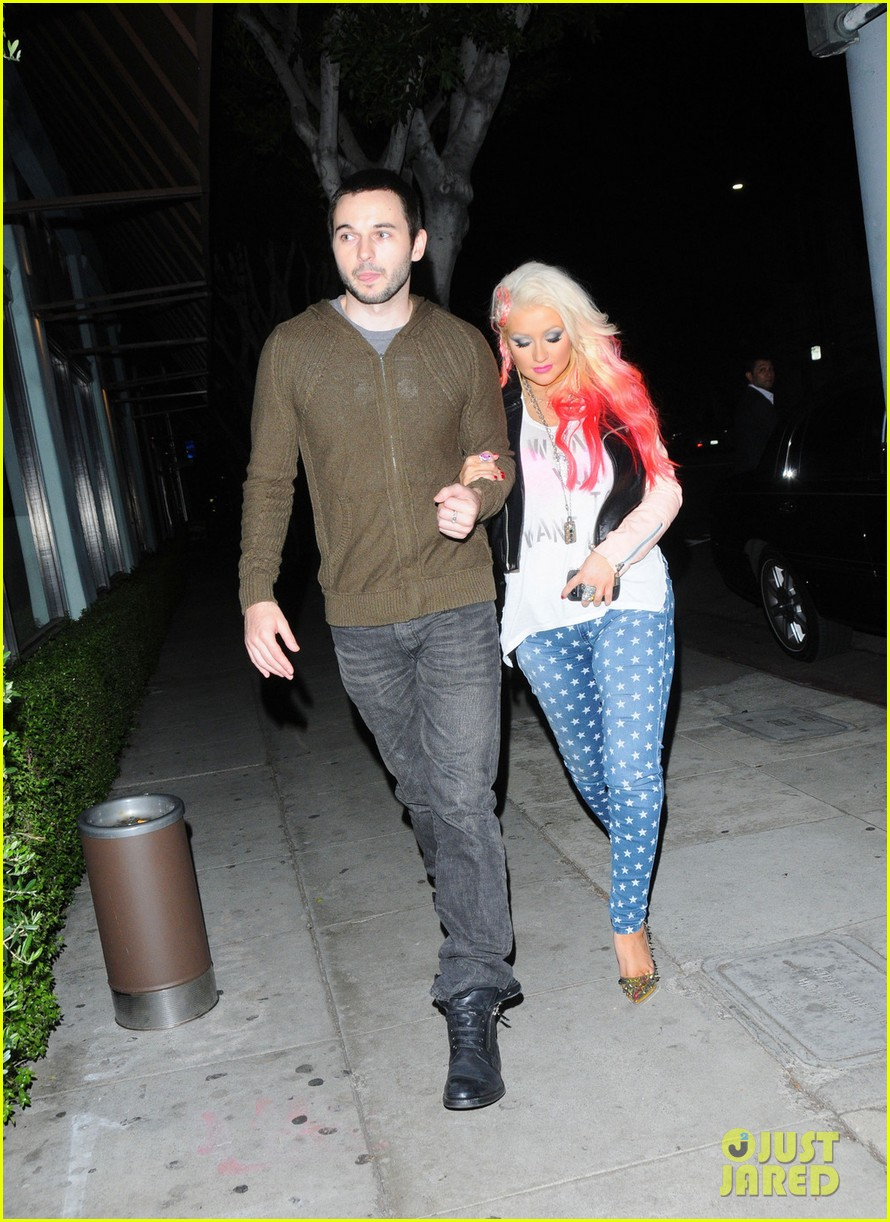 christina aguilera the voice at the grove 16