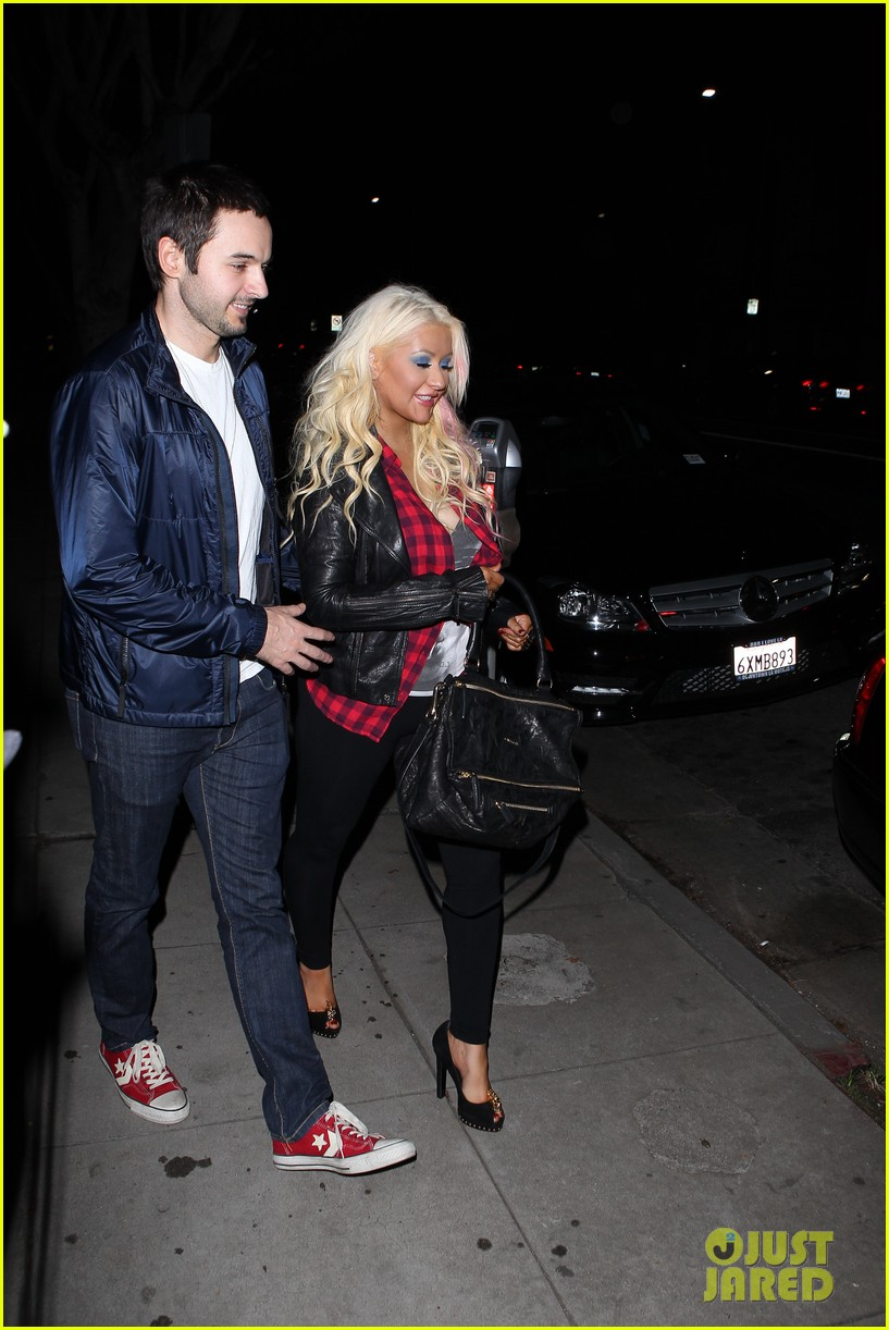 christina aguilera matthew rutler osteria mozza date night 02