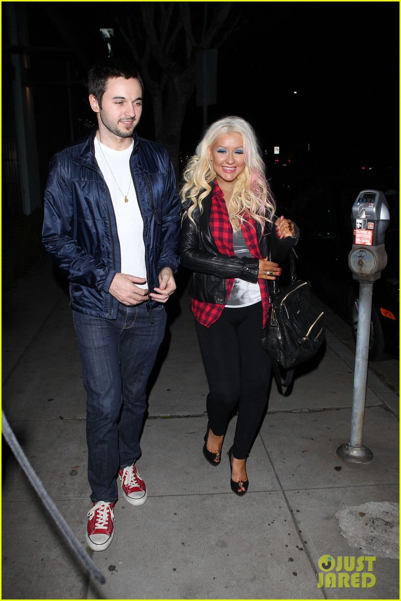 christina aguilera matthew rutler osteria mozza date night 04