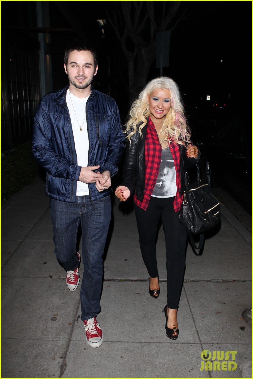 christina aguilera matthew rutler osteria mozza date night 07