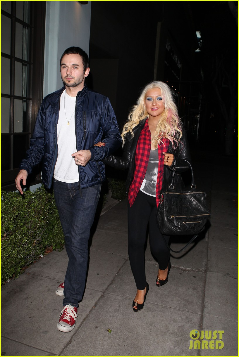 christina aguilera matthew rutler osteria mozza date night 08