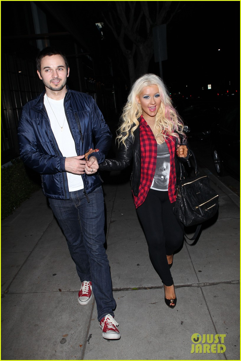 christina aguilera matthew rutler osteria mozza date night 09