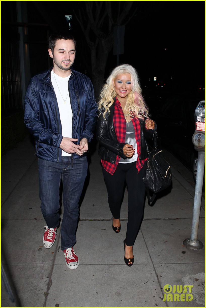 christina aguilera matthew rutler osteria mozza date night 10