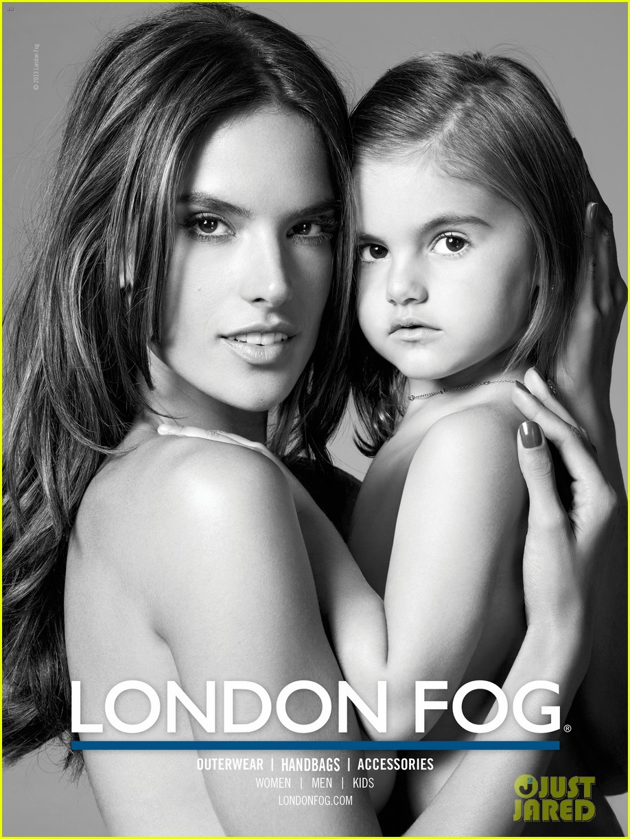 alessandra ambrosio london fog campaign with anja 04