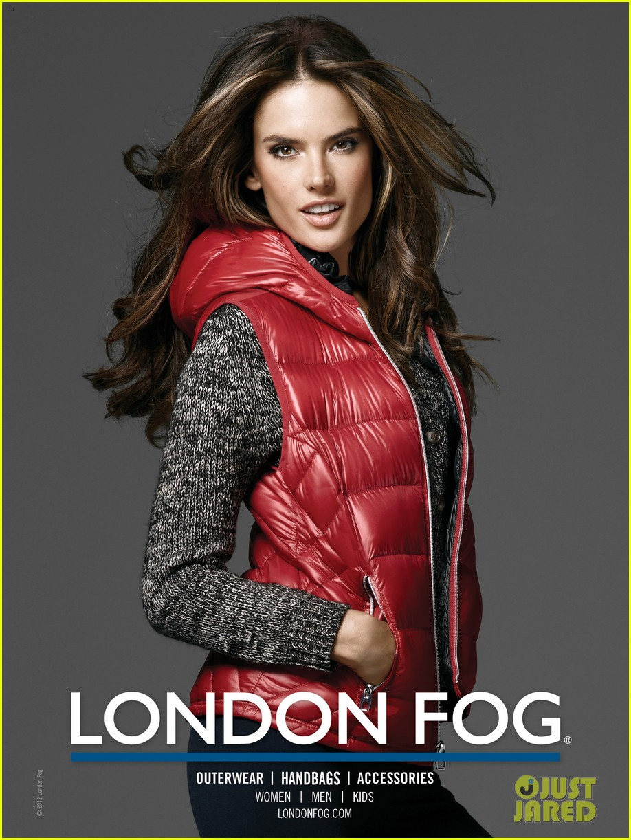 alessandra ambrosio london fog campaign with anja 07