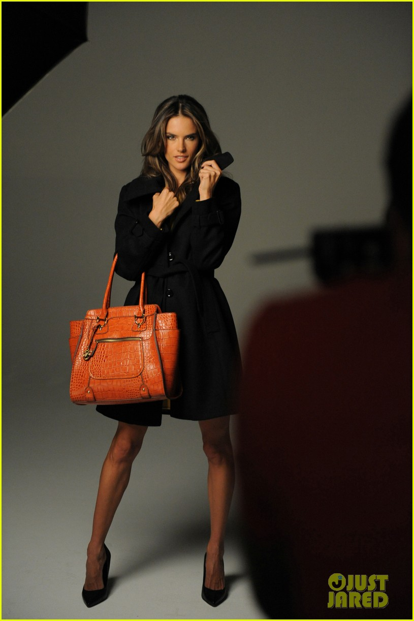 alessandra ambrosio london fog campaign with anja 16