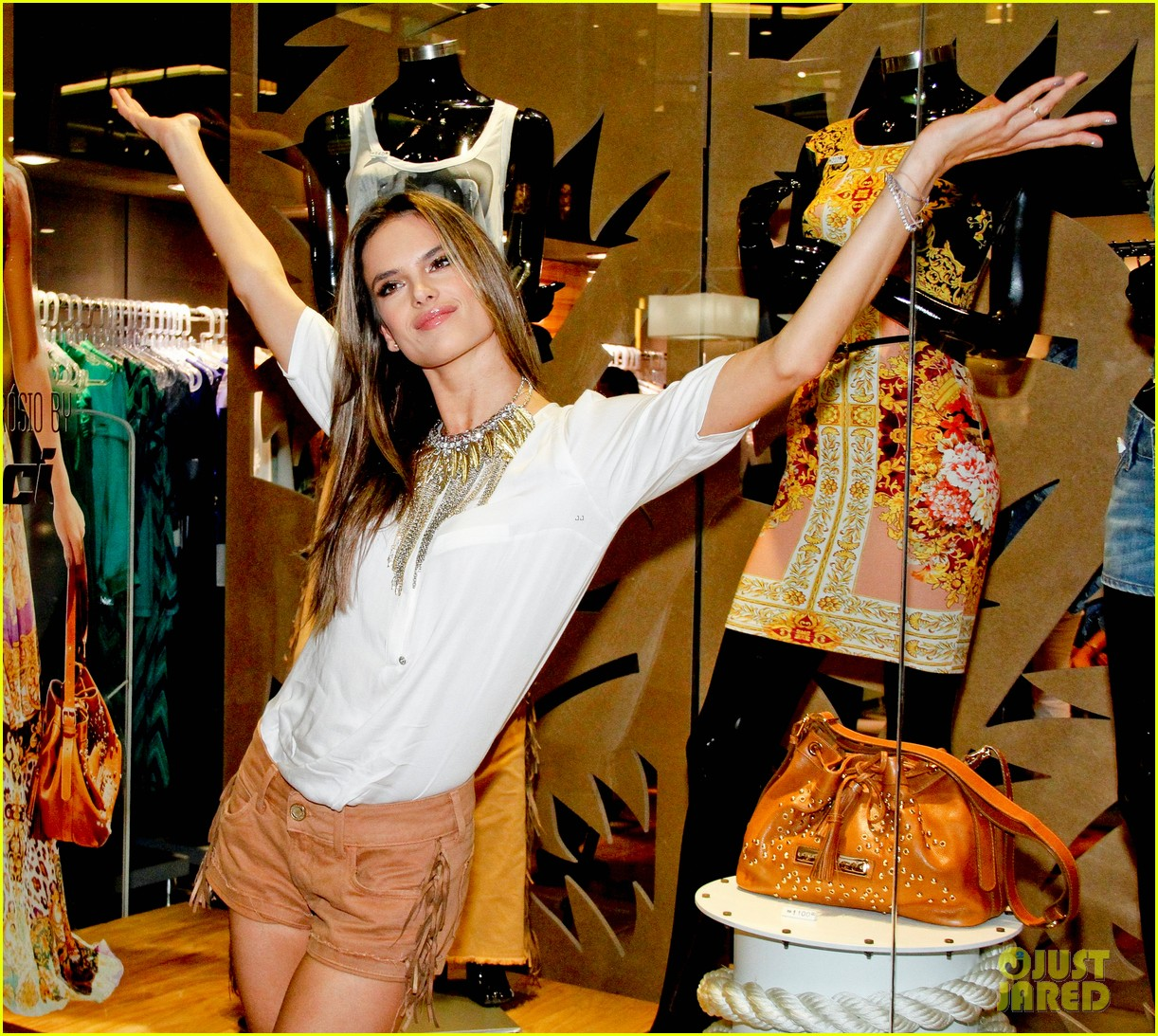 alessandra ambrosio colcci collection launch in rio 25