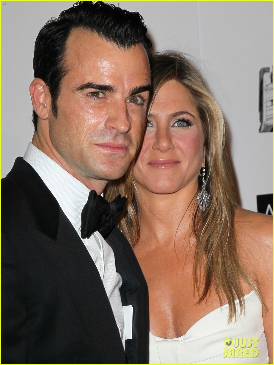 jennifer aniston justin theroux american cinematheque gala 16