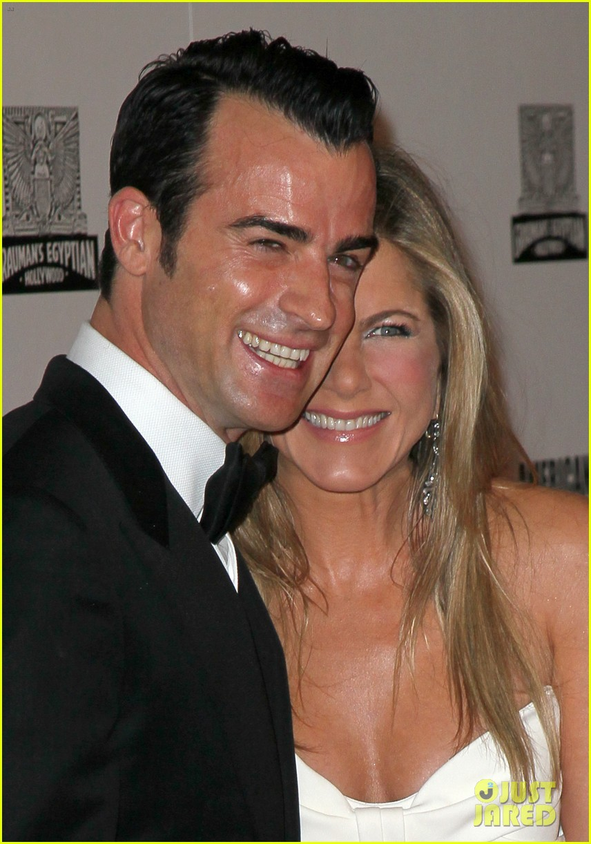 jennifer aniston justin theroux american cinematheque gala 19