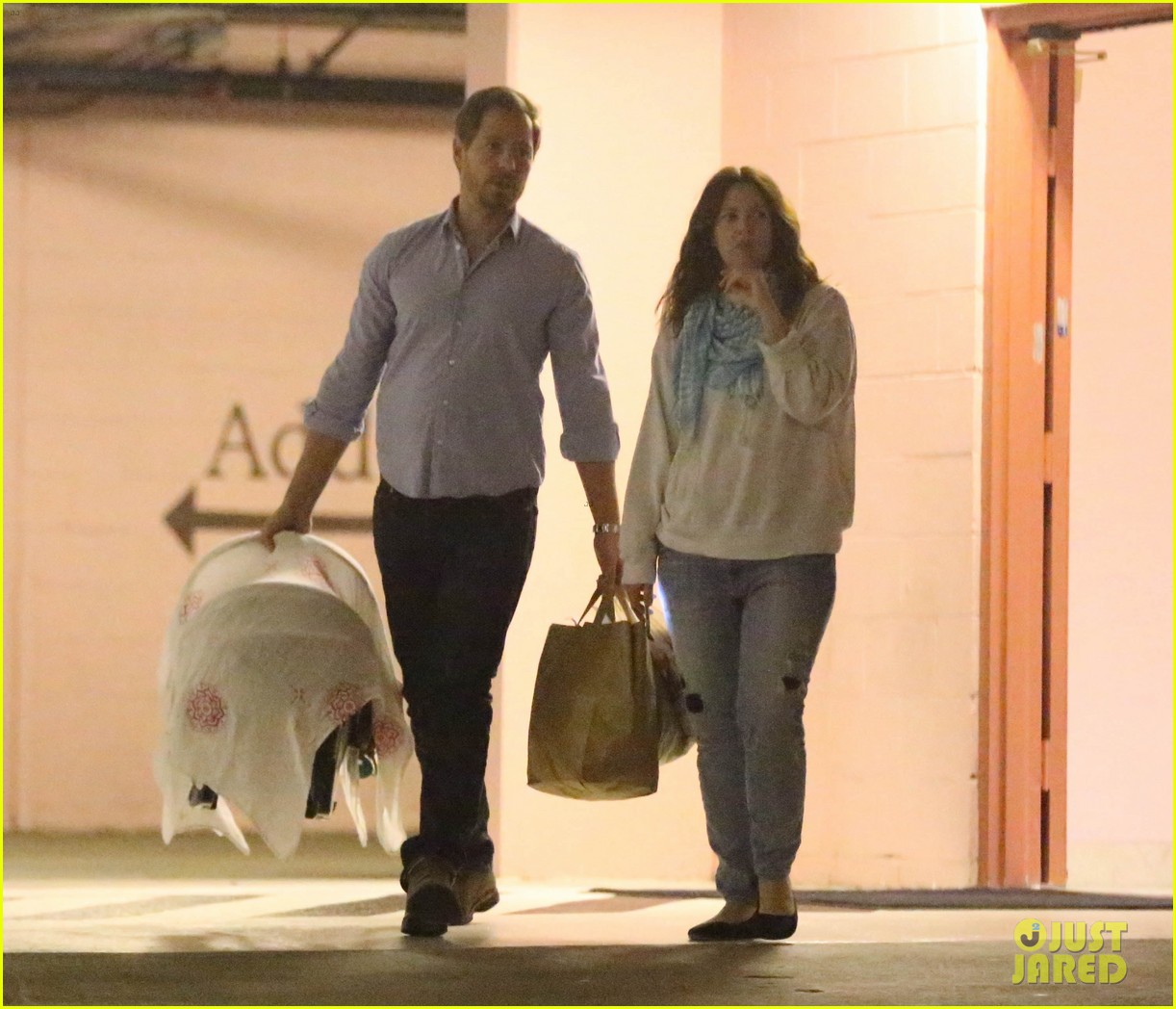 drew barrymore will kopelman doctors visit with olive 12