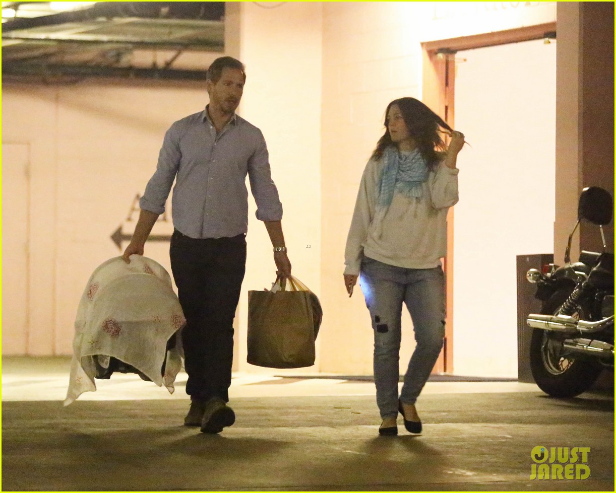 drew barrymore will kopelman doctors visit with olive 13