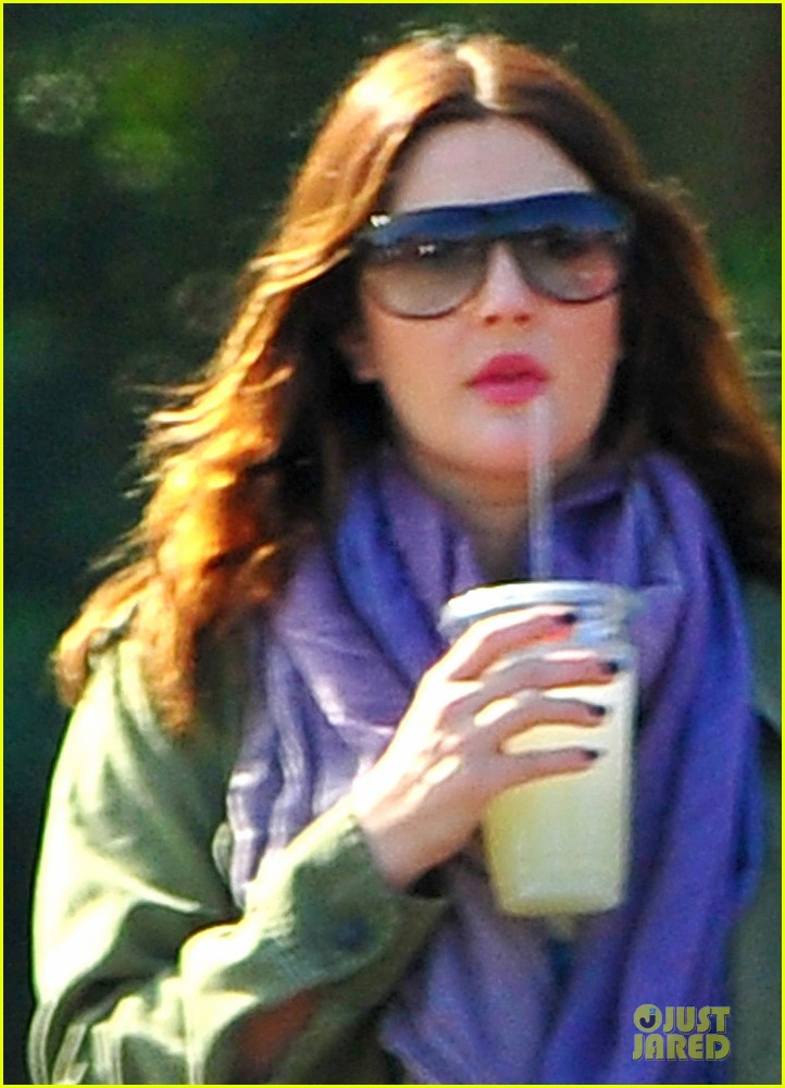 drew barrymore culver city lunch stop 02