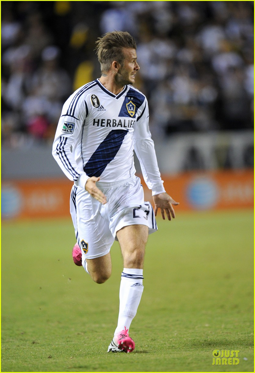 david beckham galaxy game with the boys 14