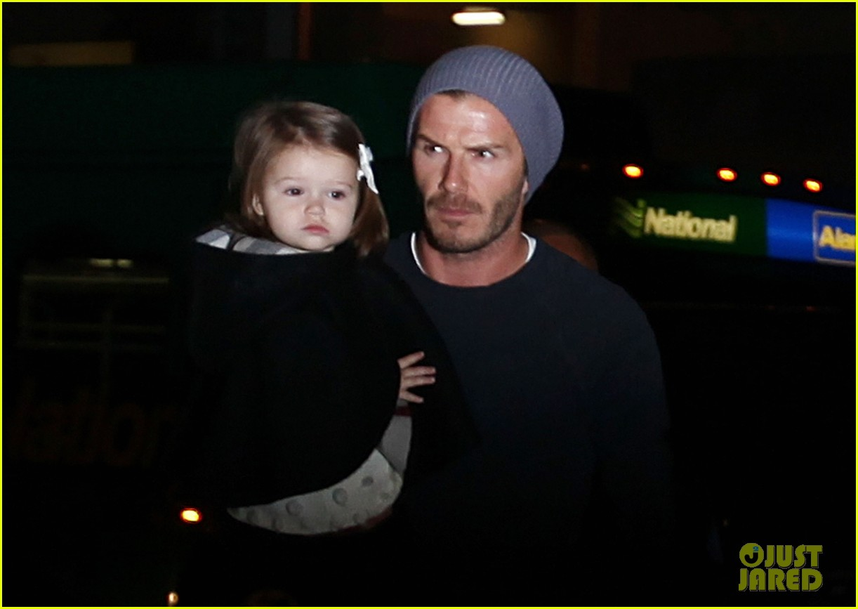david victoria beckham depart lax with kids 022762423