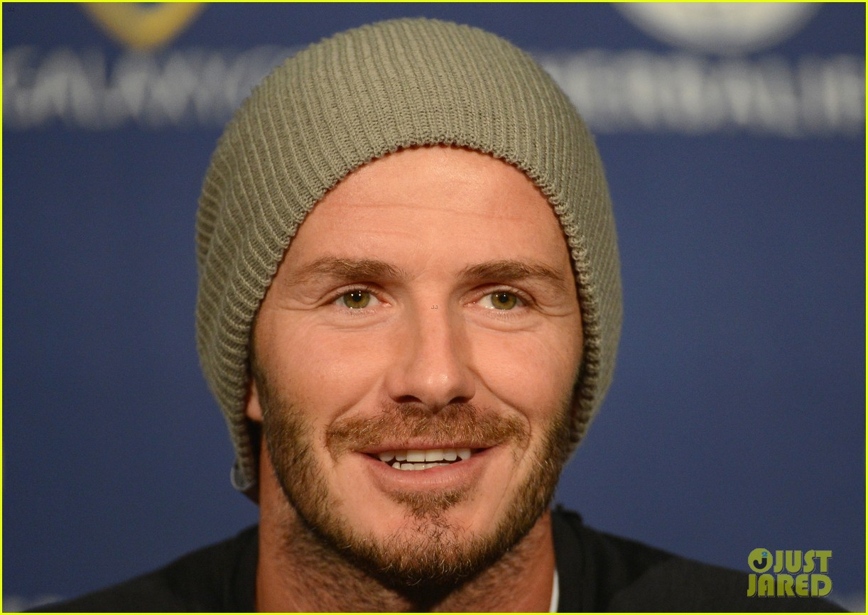 david beckham mls cup 2012 training session 04