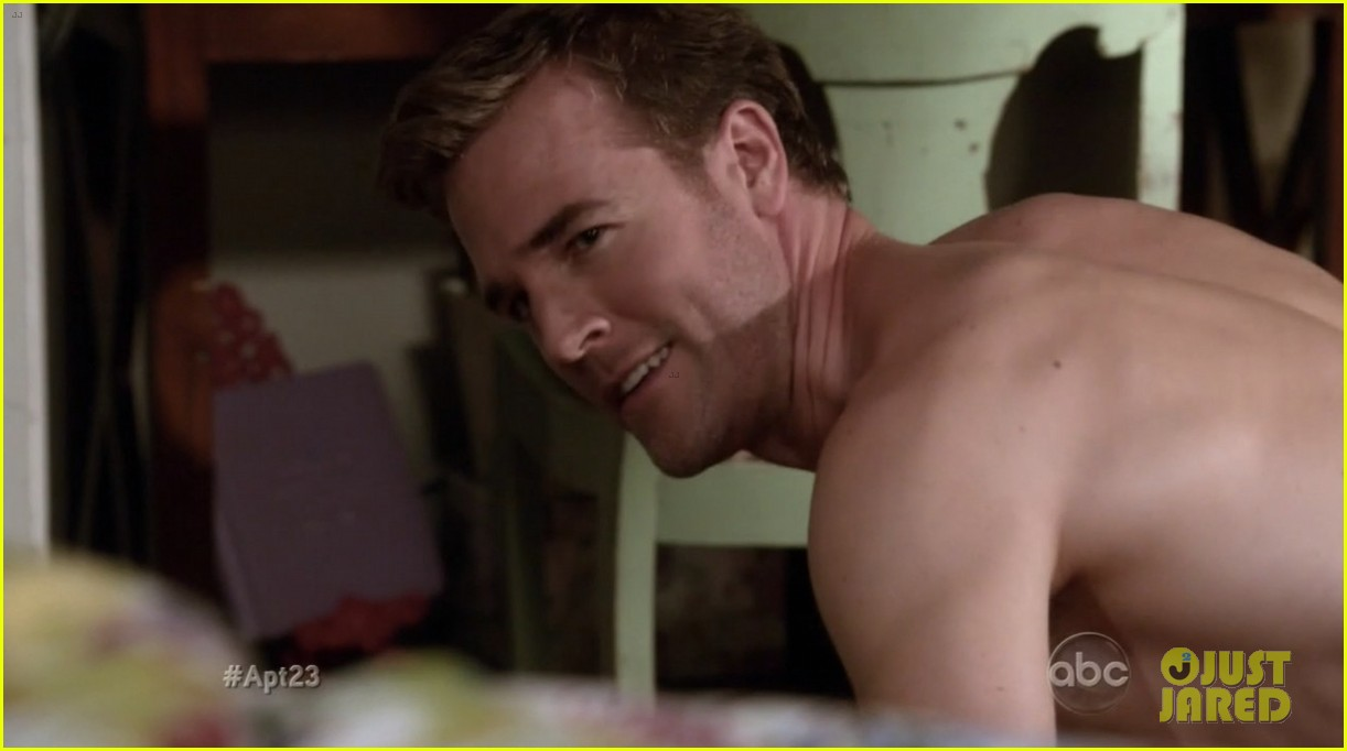 krysten ritter james van der beek goes naked for apartment 23 132759342