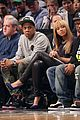 beyonce jay z nets vs knicks game at barclays center 05