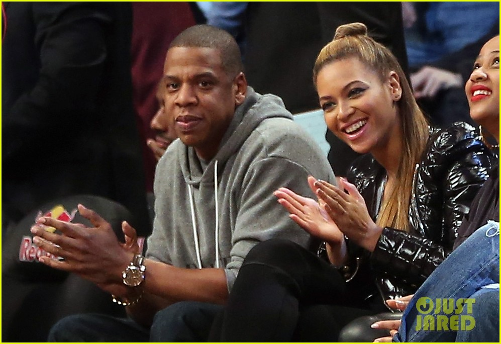 beyonce post thanksgiving nets game with jay z 042764119