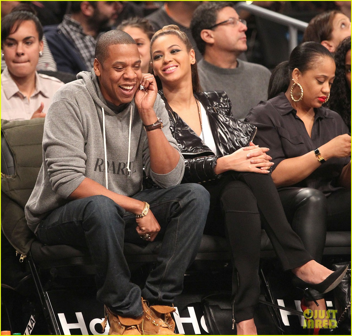 beyonce post thanksgiving nets game with jay z 05