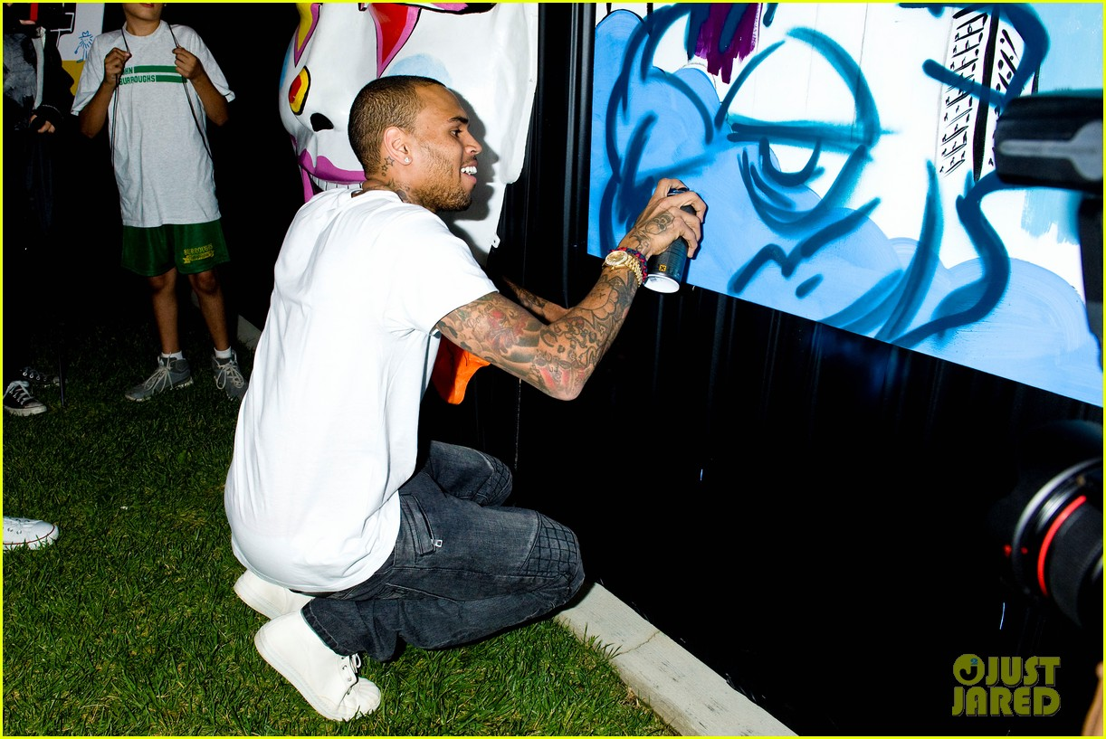 chris brown symphonic love foundation launch video 17