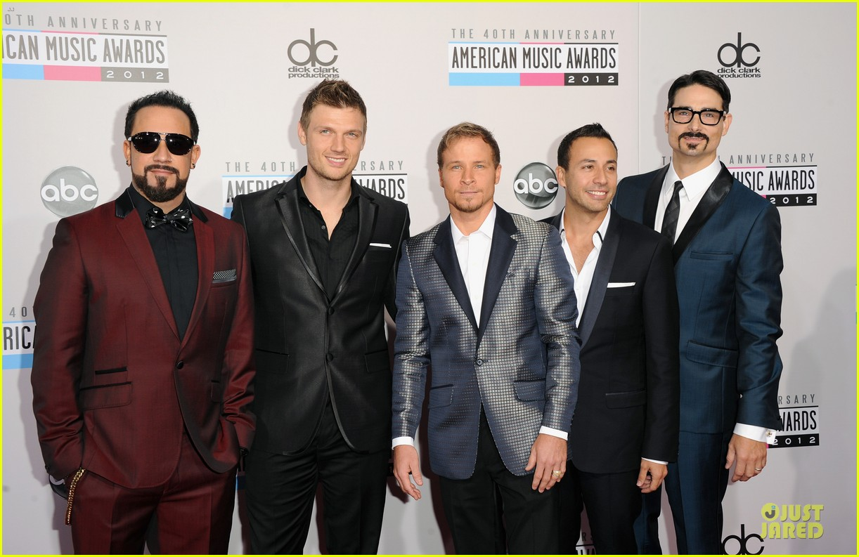 backstreet boys amas red carpet 052760215
