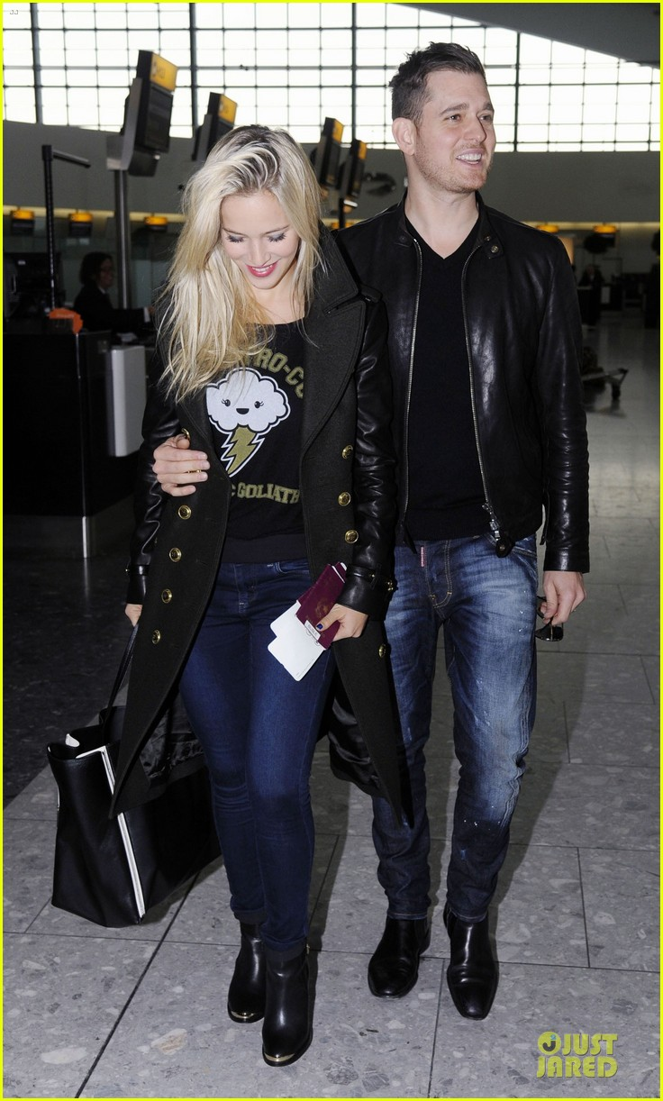 michael buble luisana lopilato london departing couple 032752392