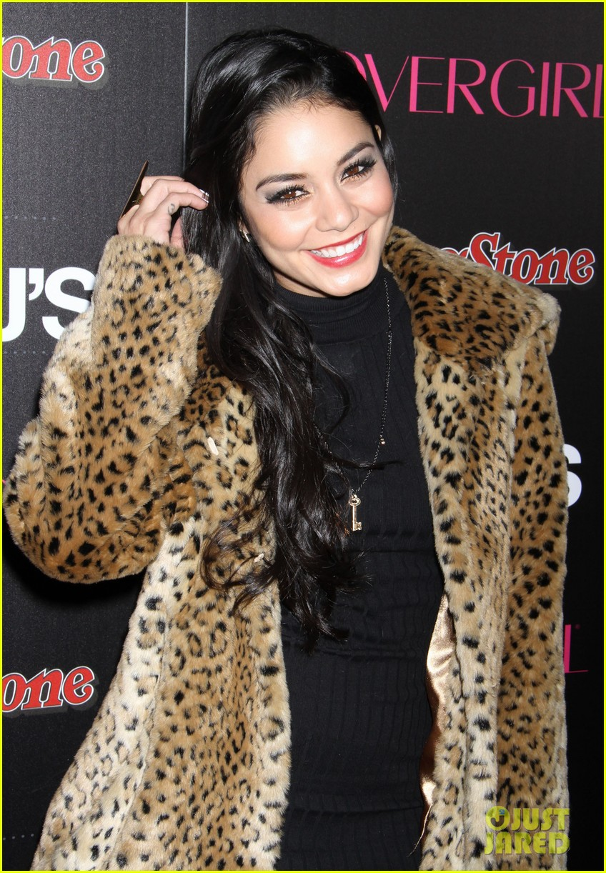 vanessa hudgens rolling stone party with austin butler 12