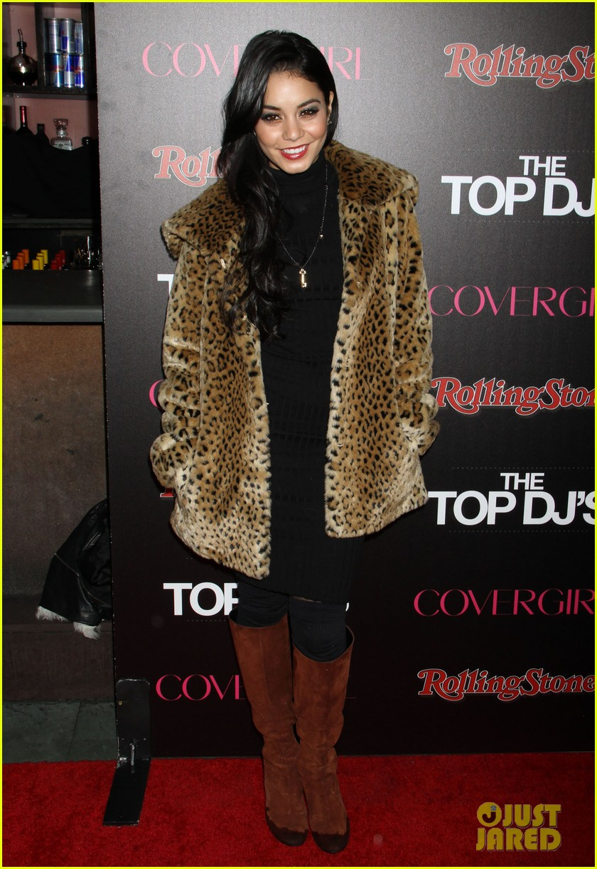 vanessa hudgens rolling stone party with austin butler 17