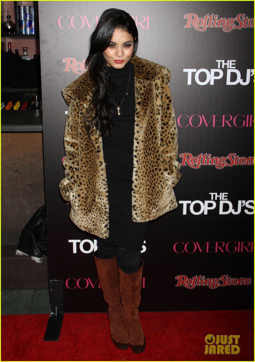 vanessa hudgens rolling stone party with austin butler 18