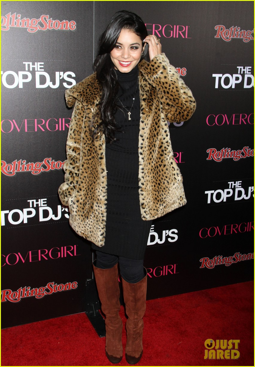 vanessa hudgens rolling stone party with austin butler 19
