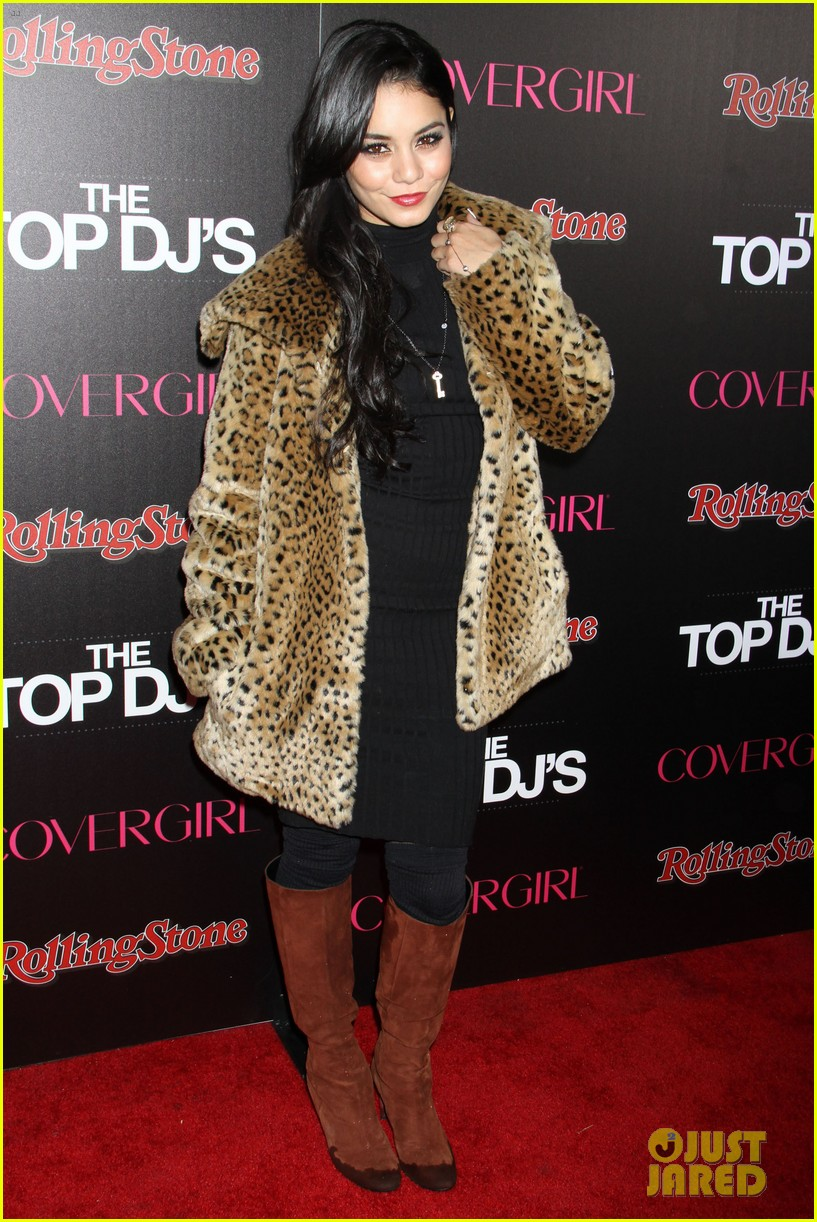 vanessa hudgens rolling stone party with austin butler 20