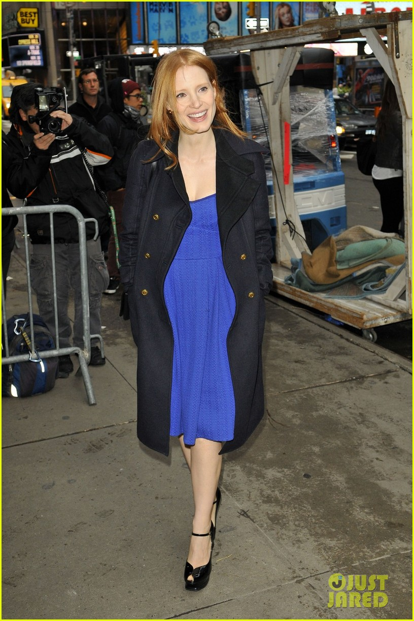 jessica chastain good morning america 05