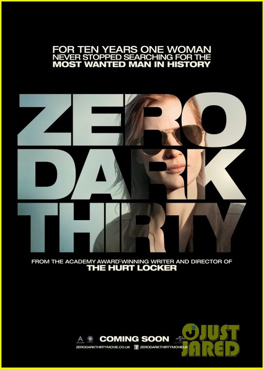 jessica chastain new zero dark thirty poster 03