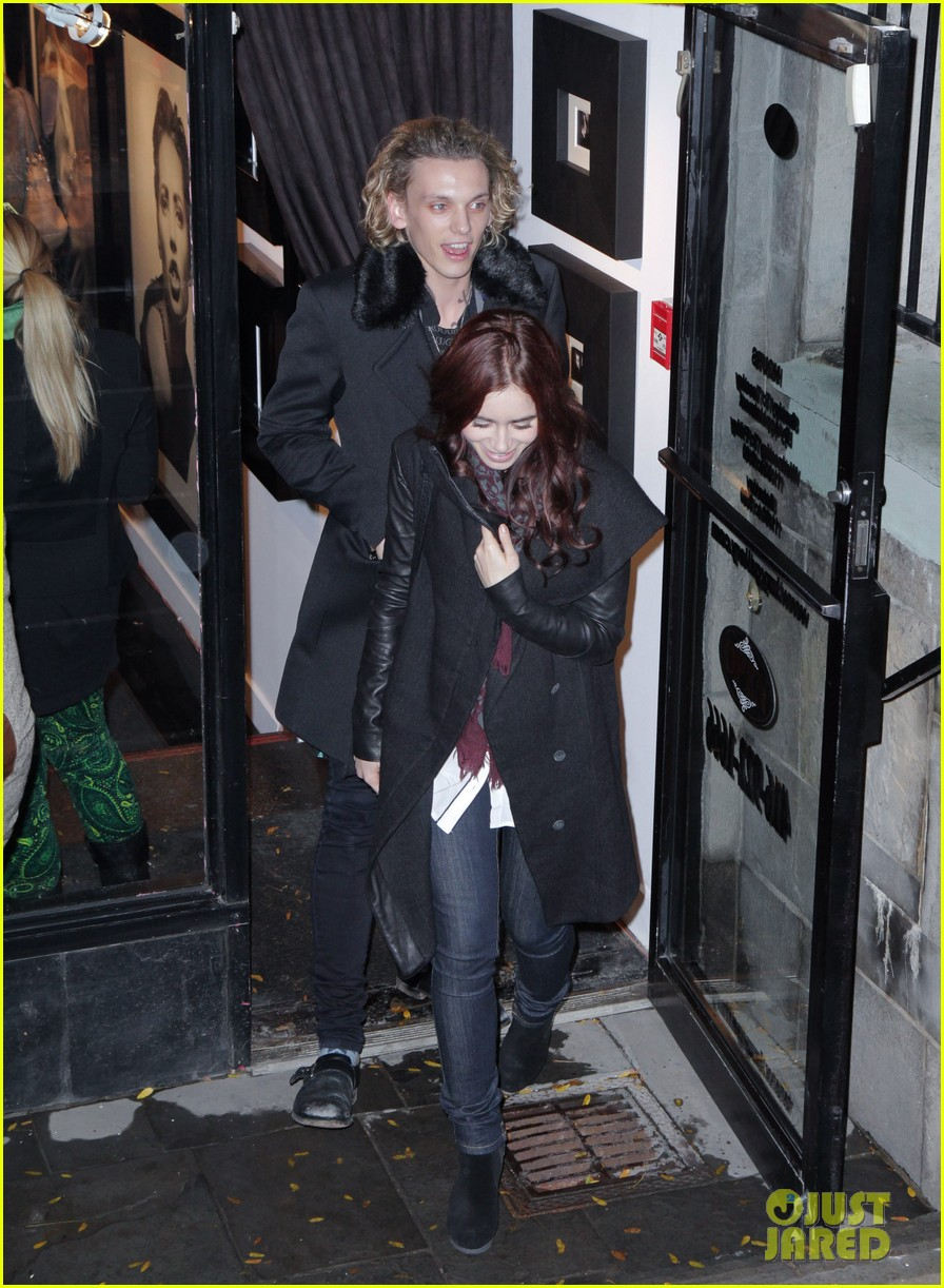 lily collins jamie campbell bower gallery viewing date 04