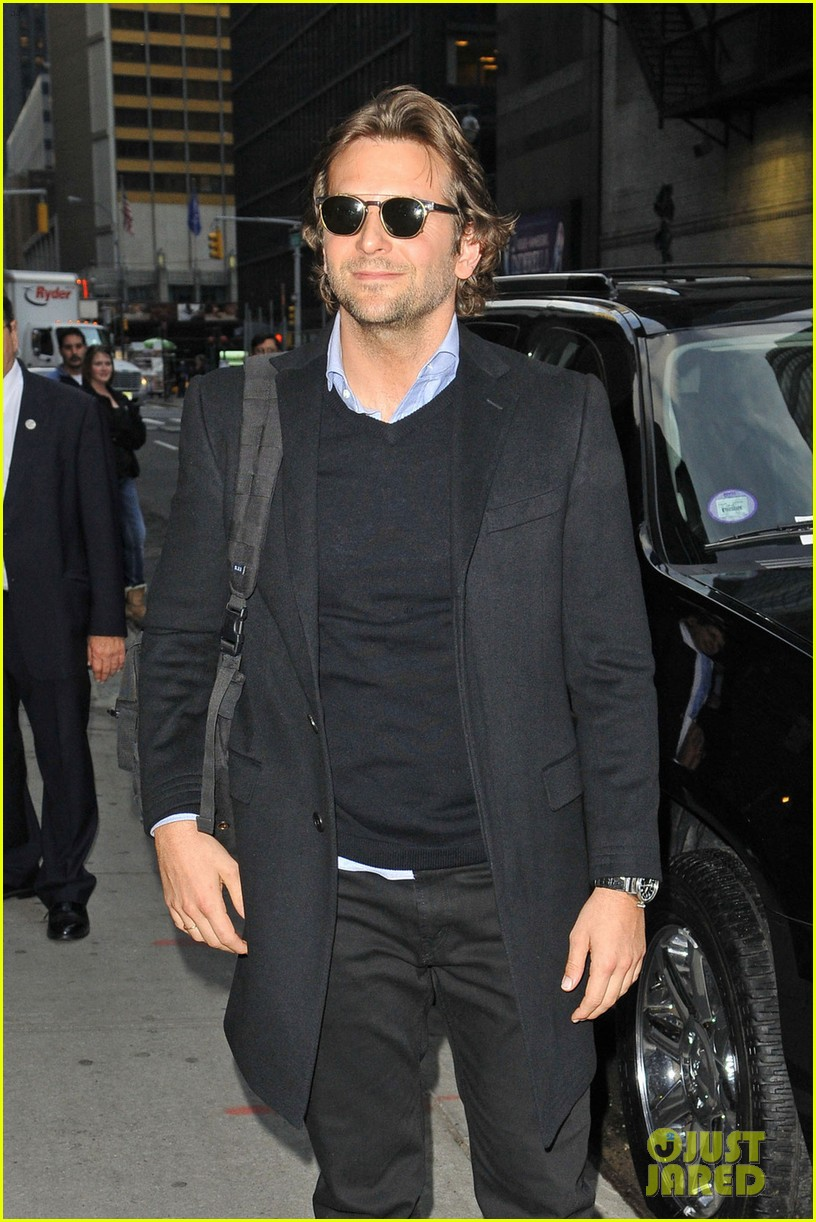 bradley cooper letterman silver linings press conference 05