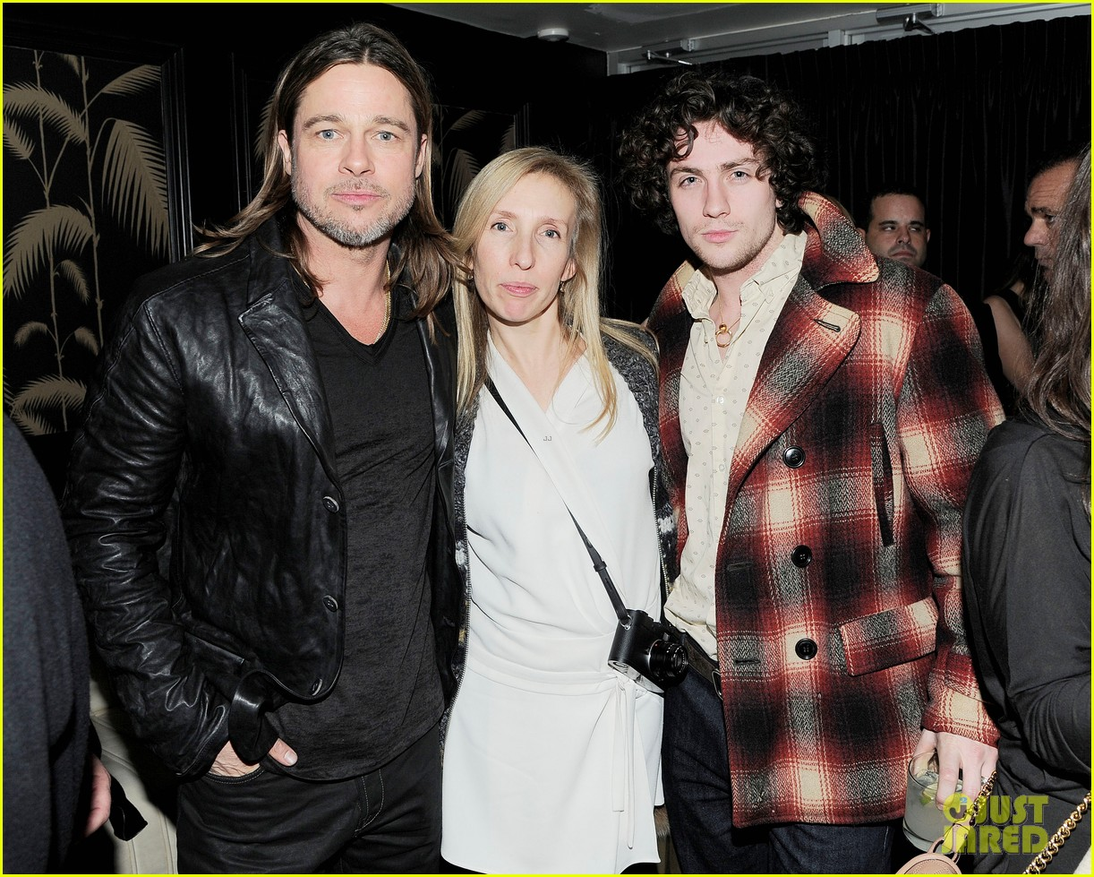 marion cotillard aaron taylor johnson killing them softly after party 12